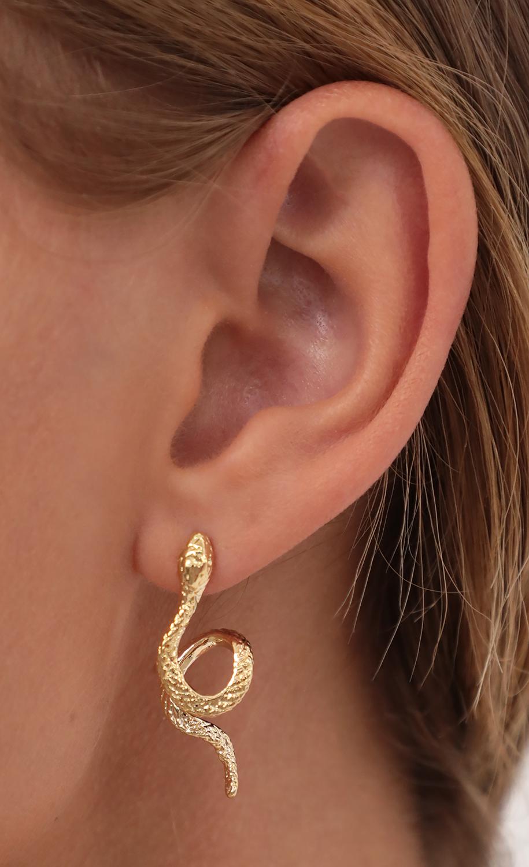 Sneaky Snake Earrings