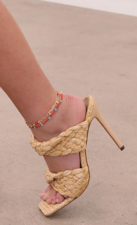 Red Rover Anklet Set