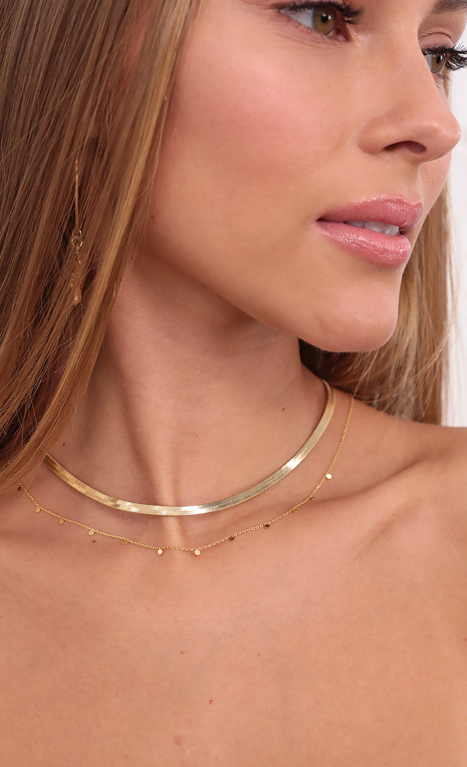 Sweet Surprise Layered Necklace in Gold