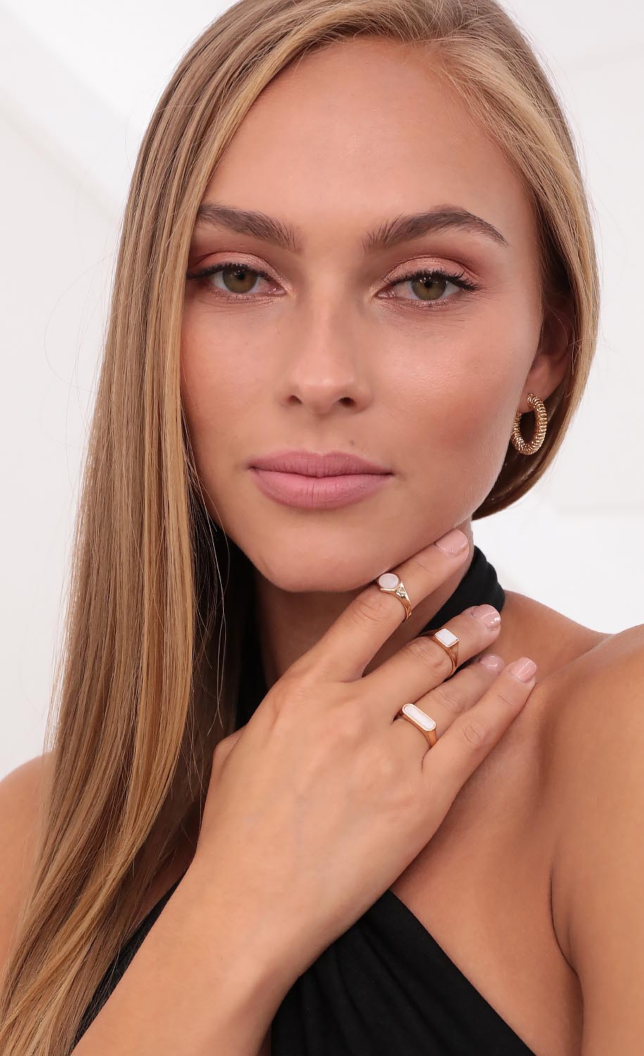 Shapes of Me Ring Set in Gold