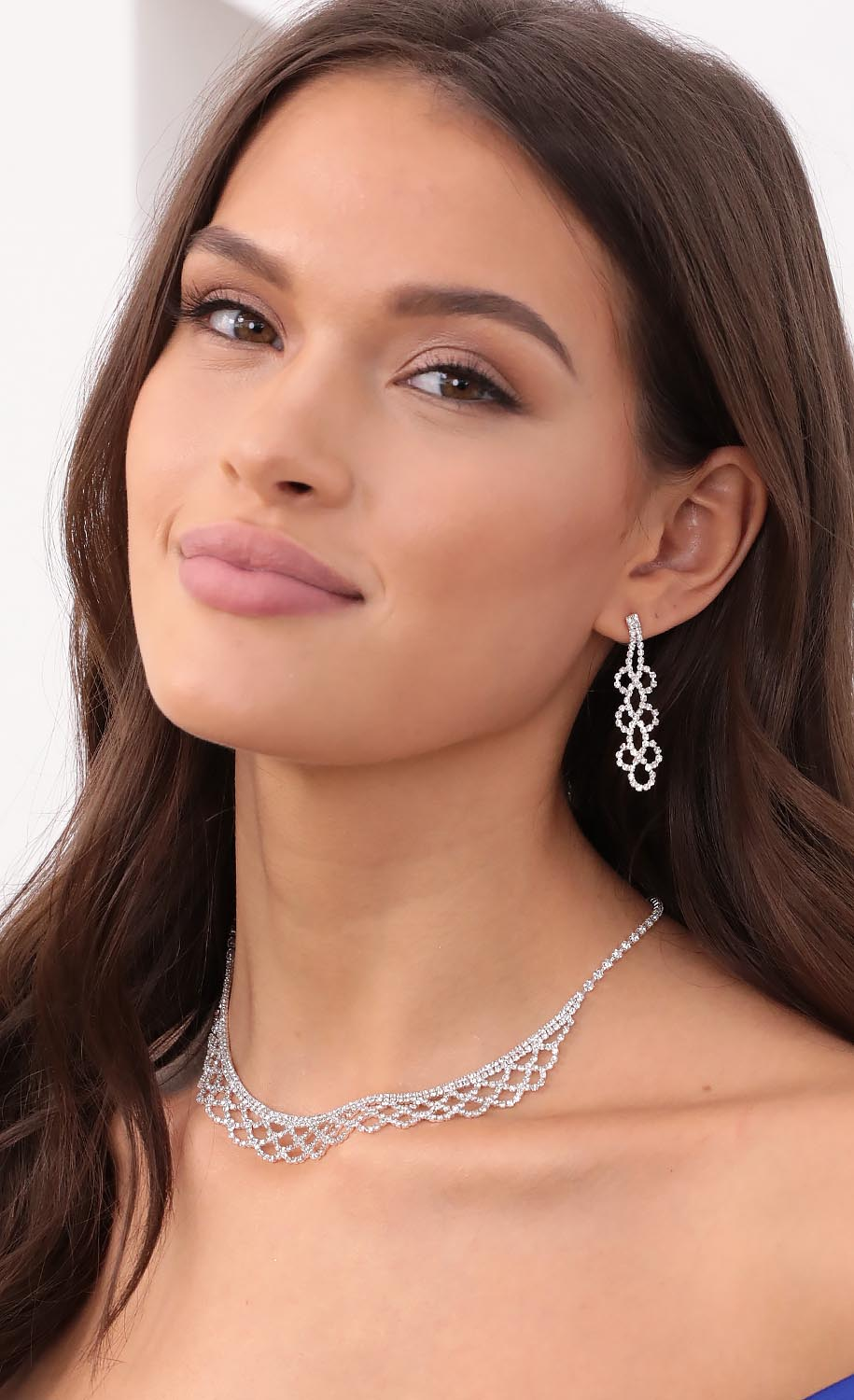 I Just Want To Sparkle Crystal Necklace Set