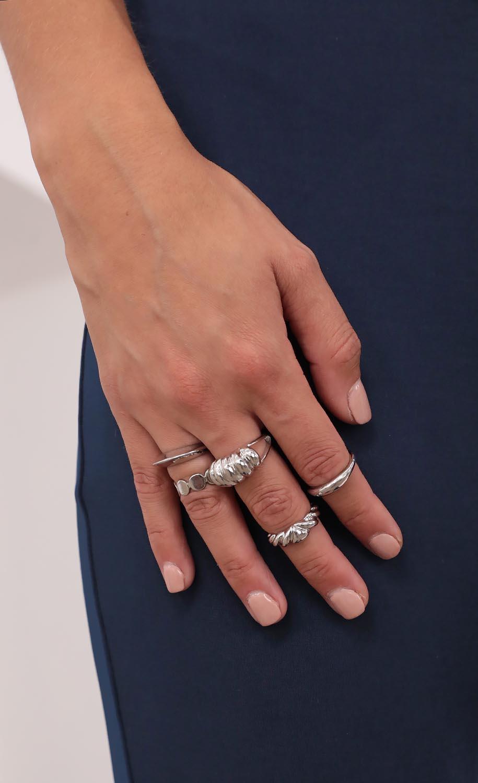 Lucid Dreams Ring Set in Silver