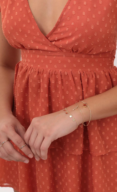 Mini Charm Bracelet Set
