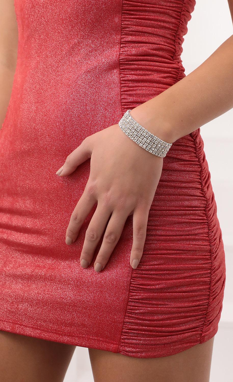 Stacked Crystal Bracelet