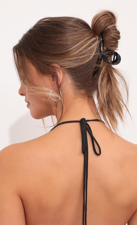 Black Claw Hair Clip