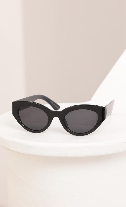 Jade Cateye Sunglasses in Black