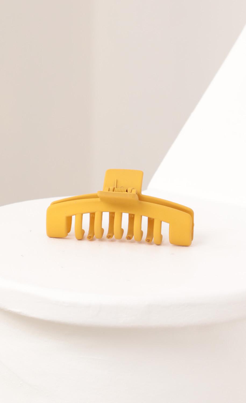 Elizabeth Clip in Mustard