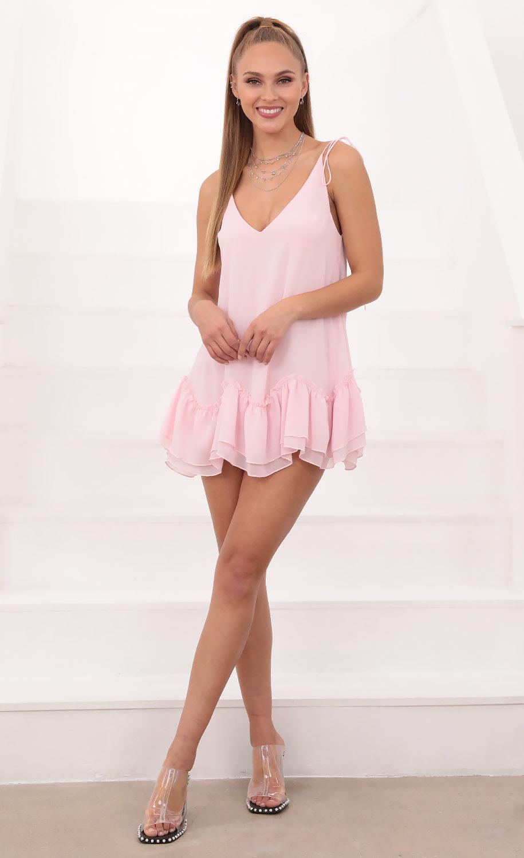 Twinkle Baby Dress in Light Pink