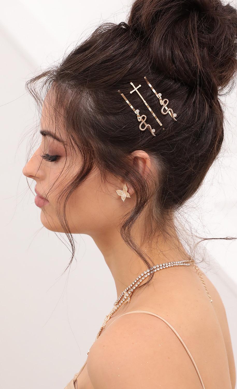 Snake Hair Pins