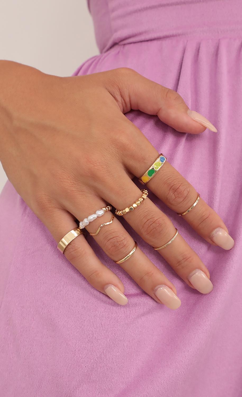 Rings Around The World Ring Set