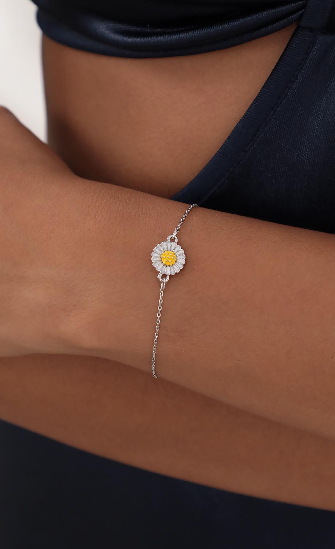Miss Daisy Bracelet in Silver