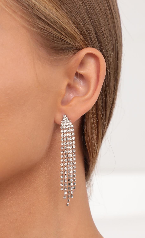 Shine Bright Like A Diamond Fringe Earrings