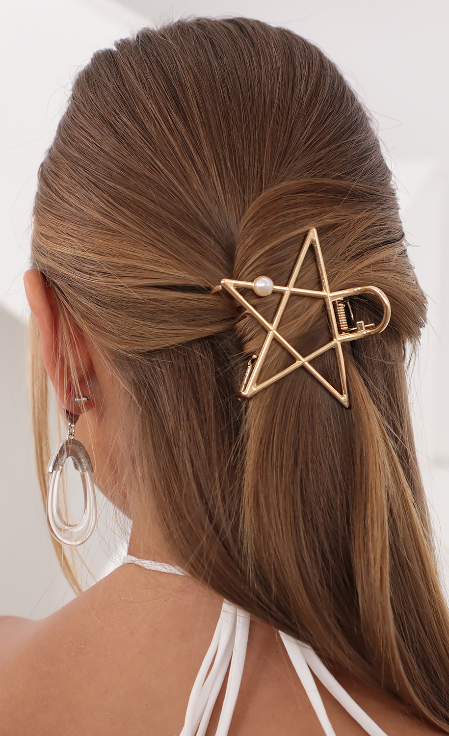 You's A Star Hair Clip in Gold