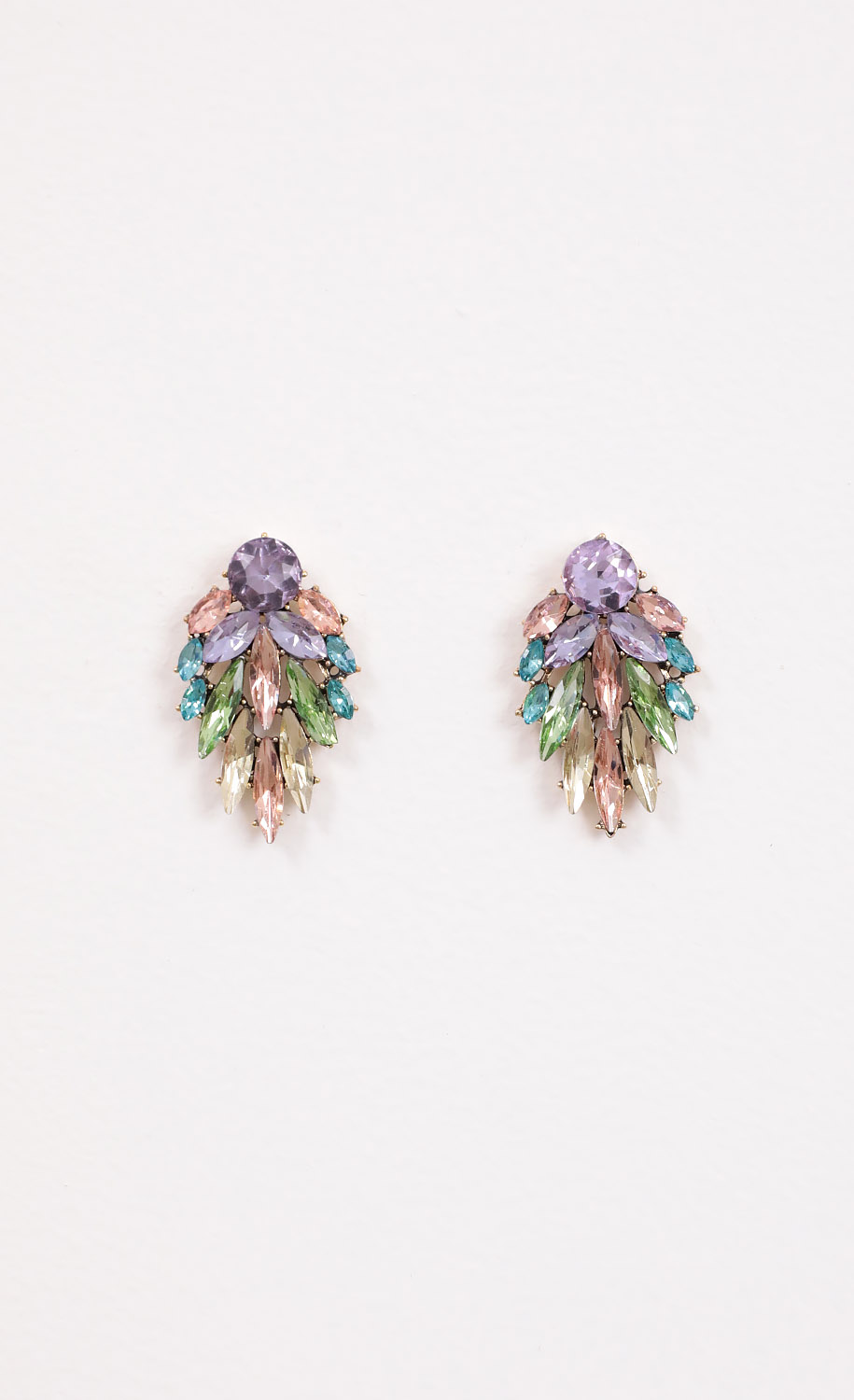 Cosette Multicolor Crystal Earrings
