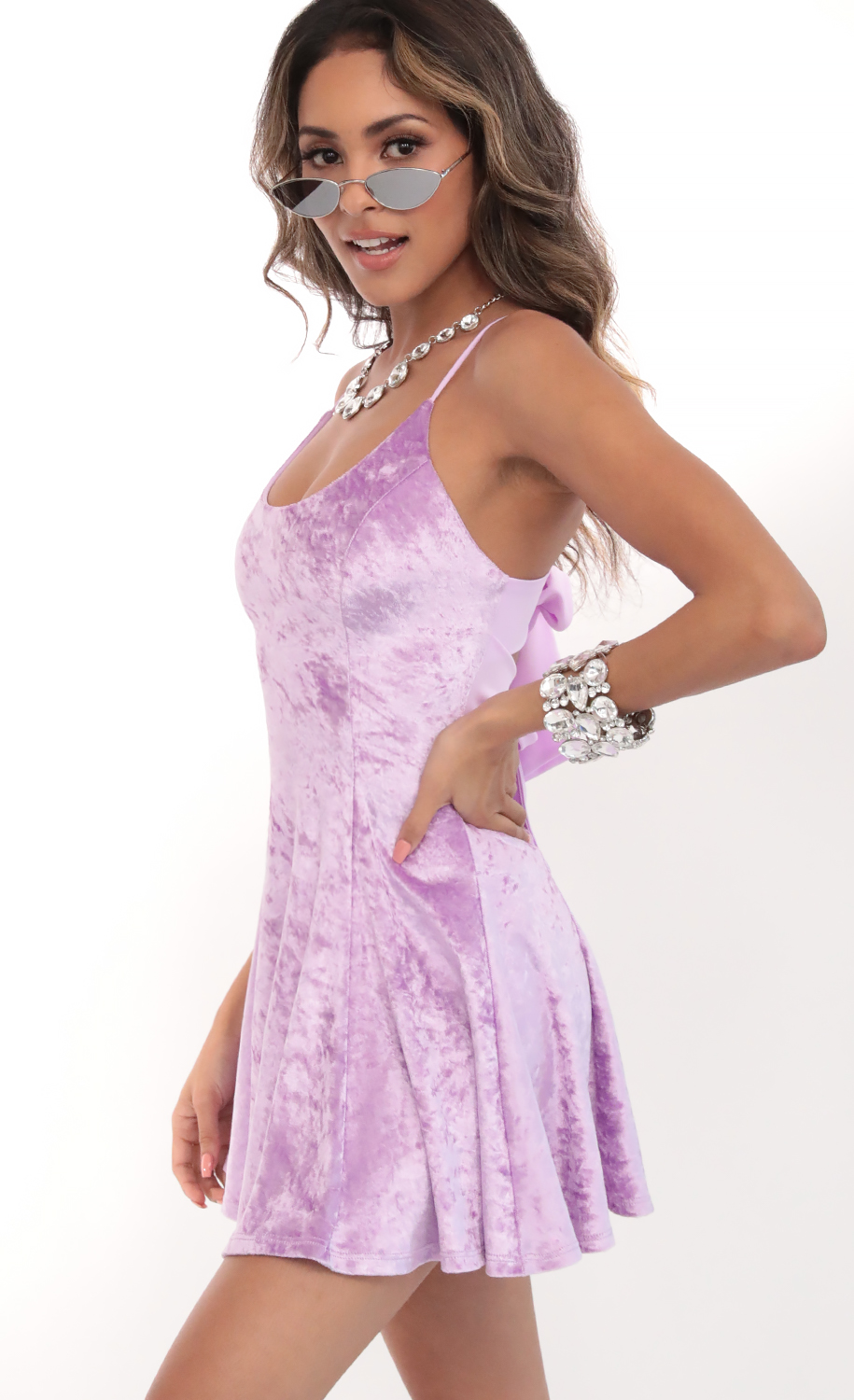 This Lilac Gal Meets Glam Collection Dress is My Favorite