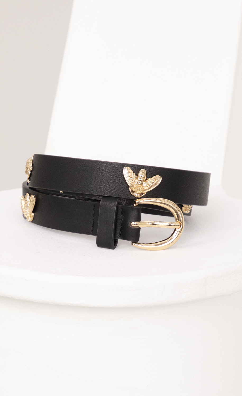 Gold Bees Stud Belt