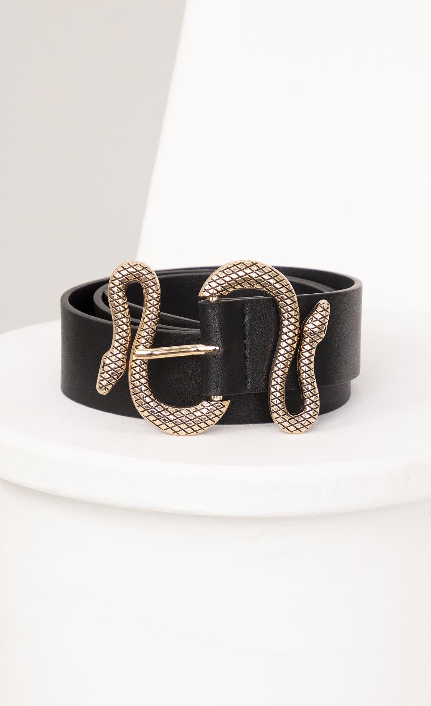 Gold Snake Charmer Belt