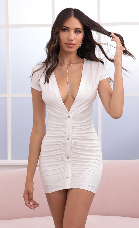 Cami Dress in White