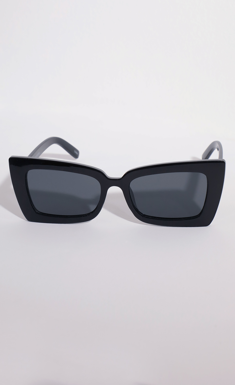 Melrose Retro Cat-Eye in Black