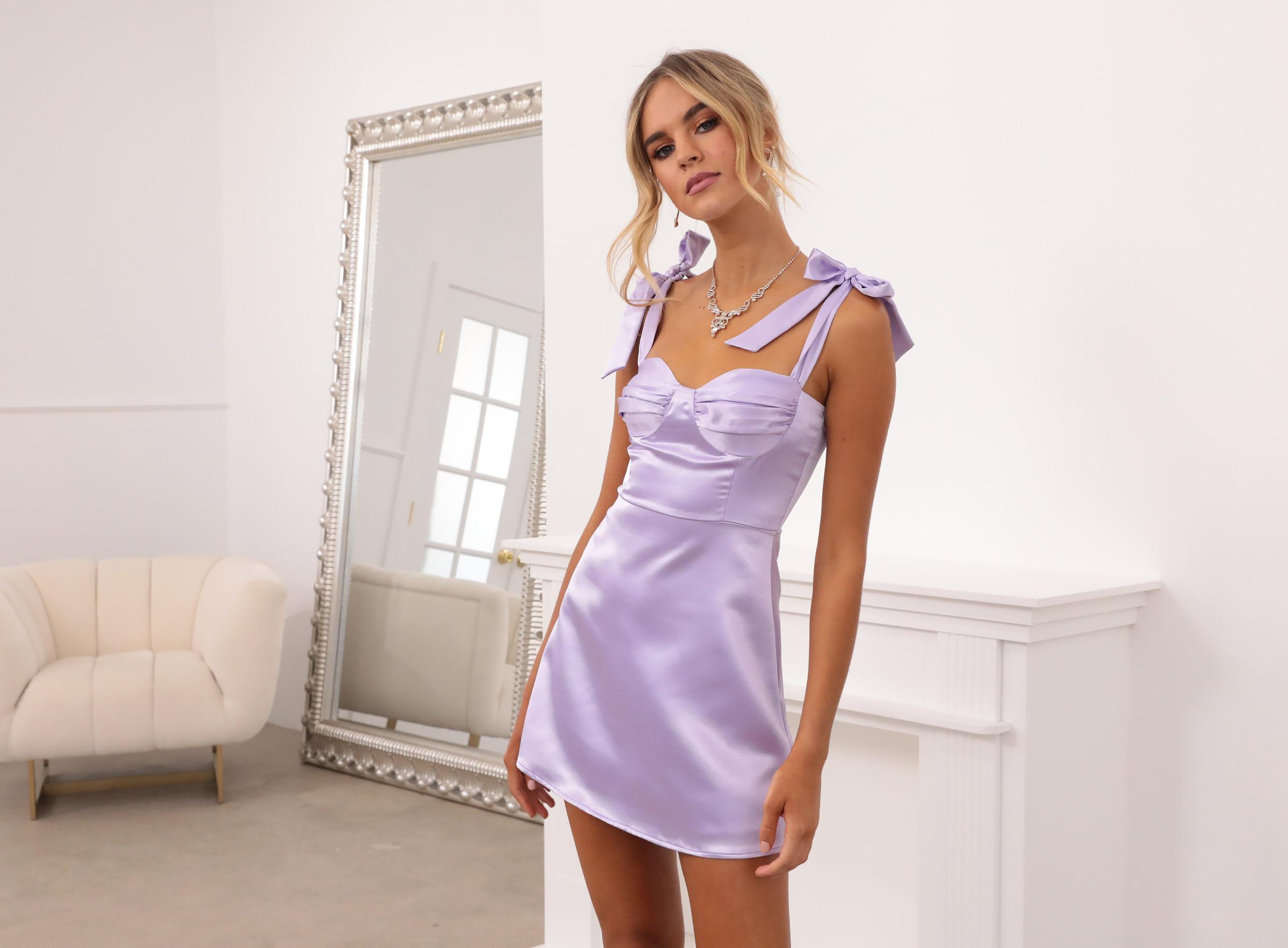 Neila Dress in Lilac