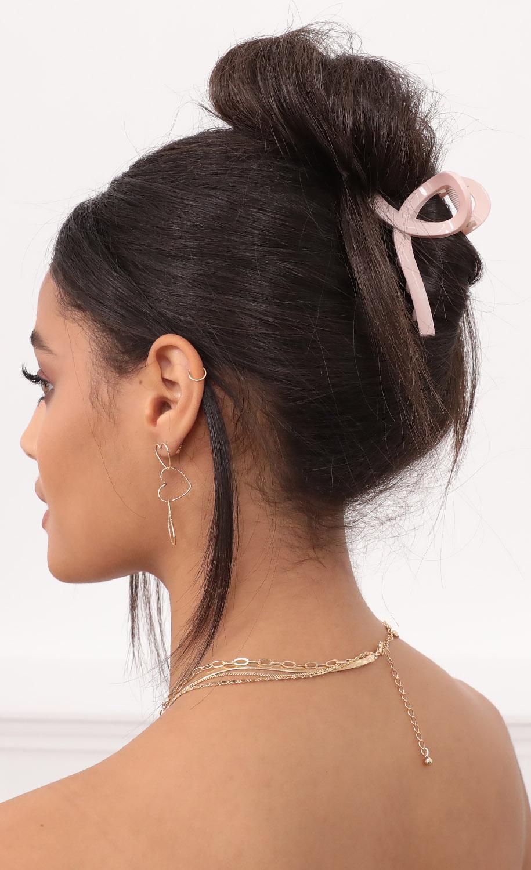 Pink Claw Hair Clip