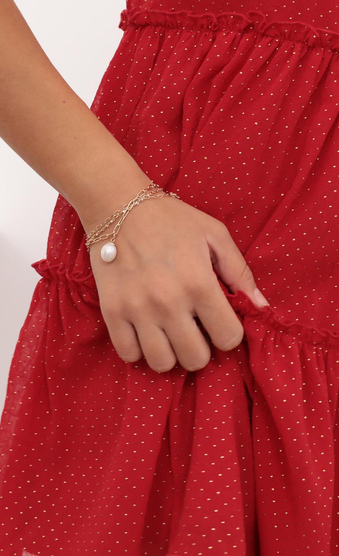 Dainty Chain and Charm Bracelet Set