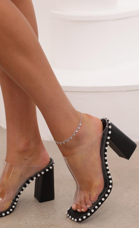 Silver Dot Anklet