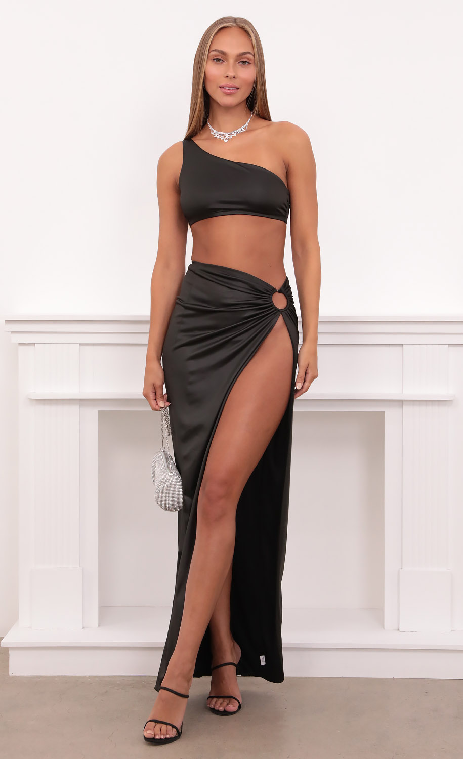 Chrishell Two Piece Set in Black
