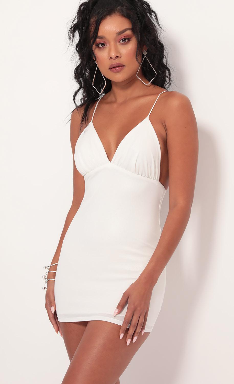 Vera White Pearlessence Dress