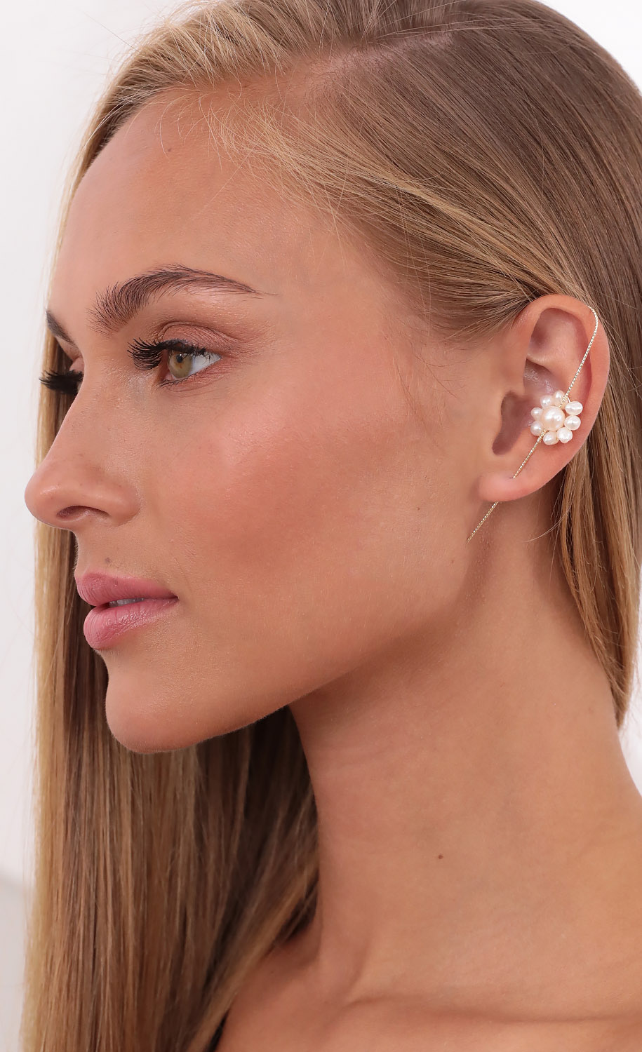 Blossoming Pearl Ear Cuff