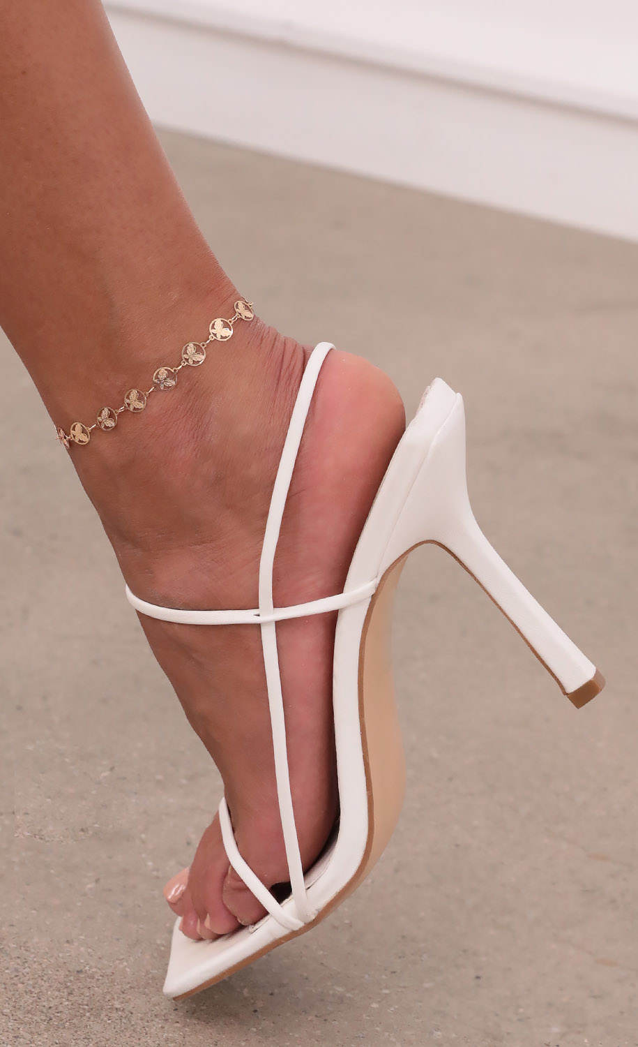 Lost Butterfly Anklet in Gold