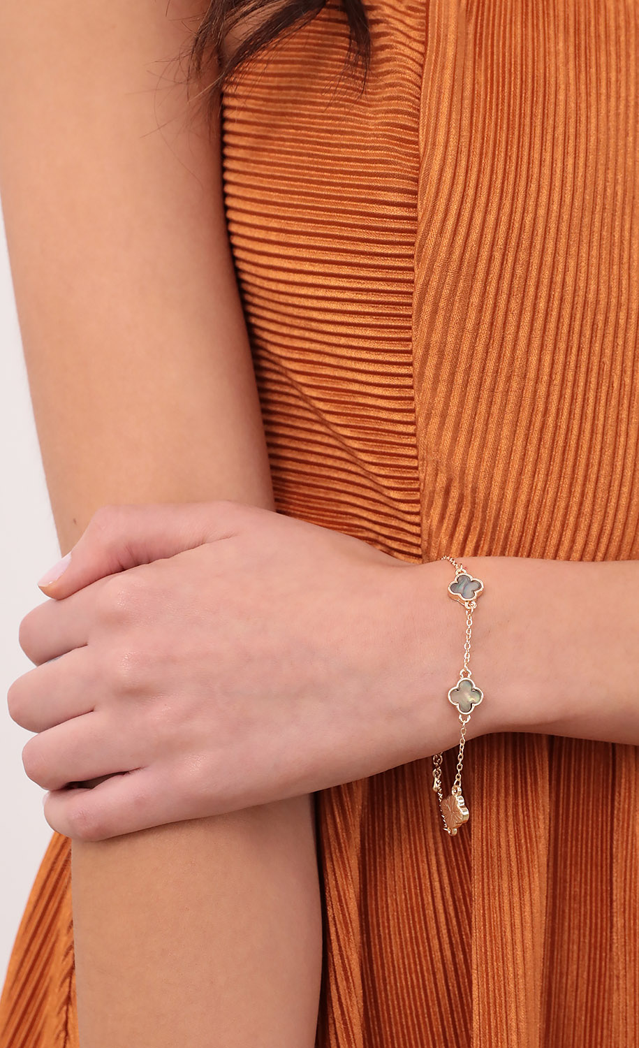 Lucky You Bracelet in Gold